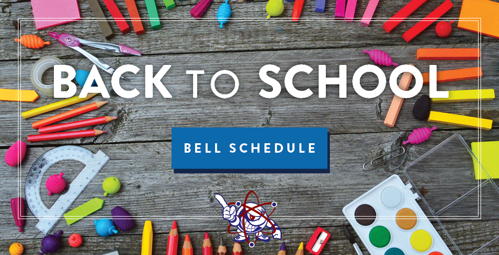 Utica Academy of Science Bell Schedules for 2019 - 2020