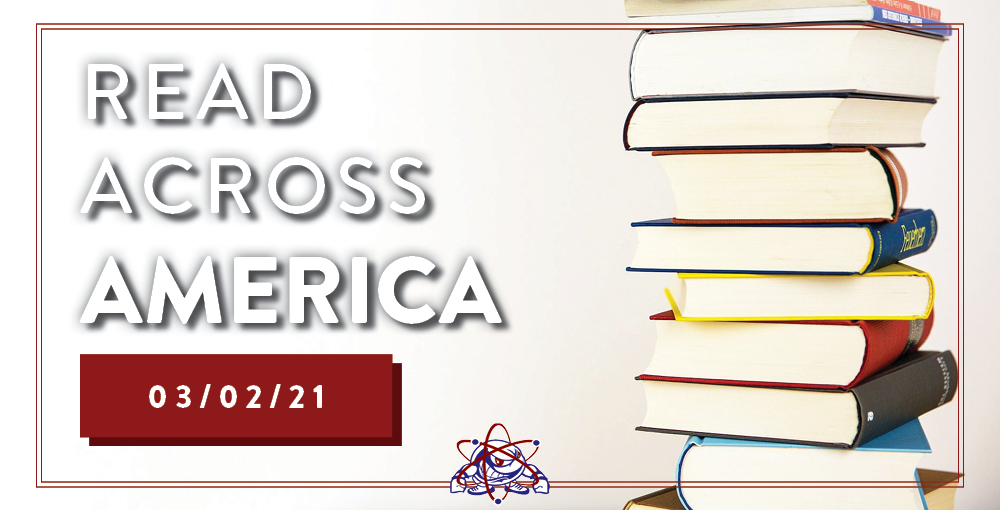 It's National Read Across America Day and Dr. Seuss Day. We encourage all students and their families to find time to read a book together.