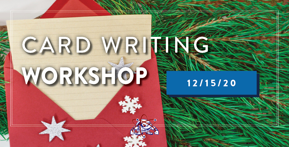 Utica Academy of Science is hosting a virtual Card Writing Workshop on Tuesday, December 15th