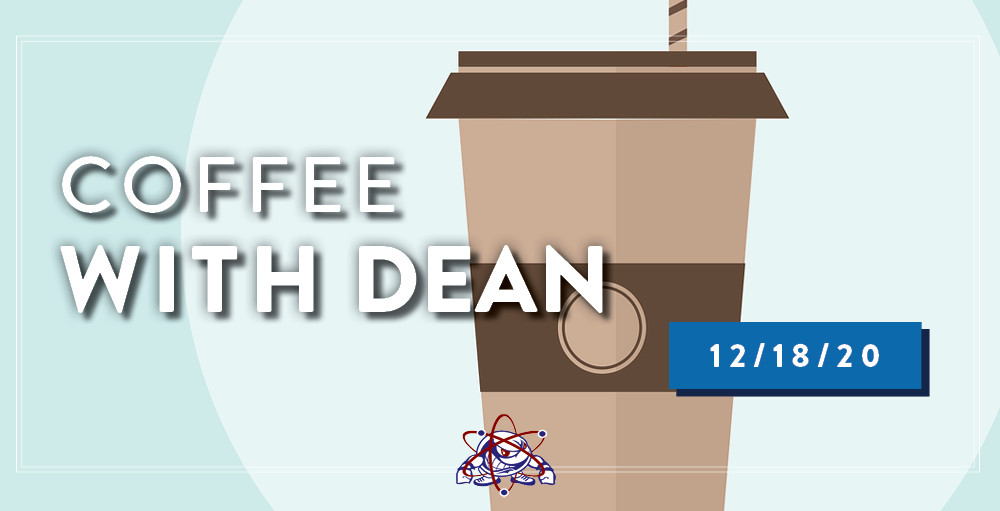 Utica Academy of Science High School invites you to join them for its virtual Coffee with Dean event on Friday, December 18th at 9:00 AM.
