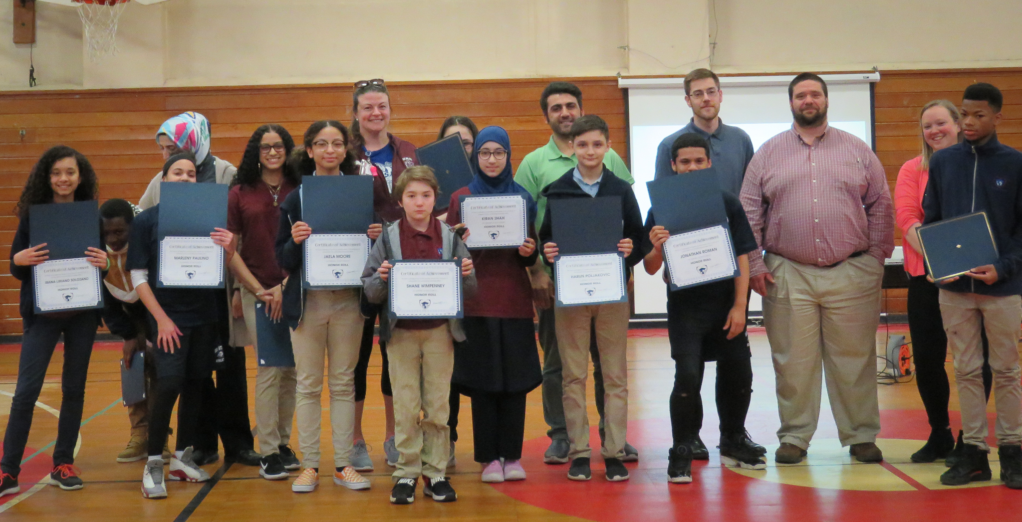 UASCS students receive academic excellence and citizenship performance awards