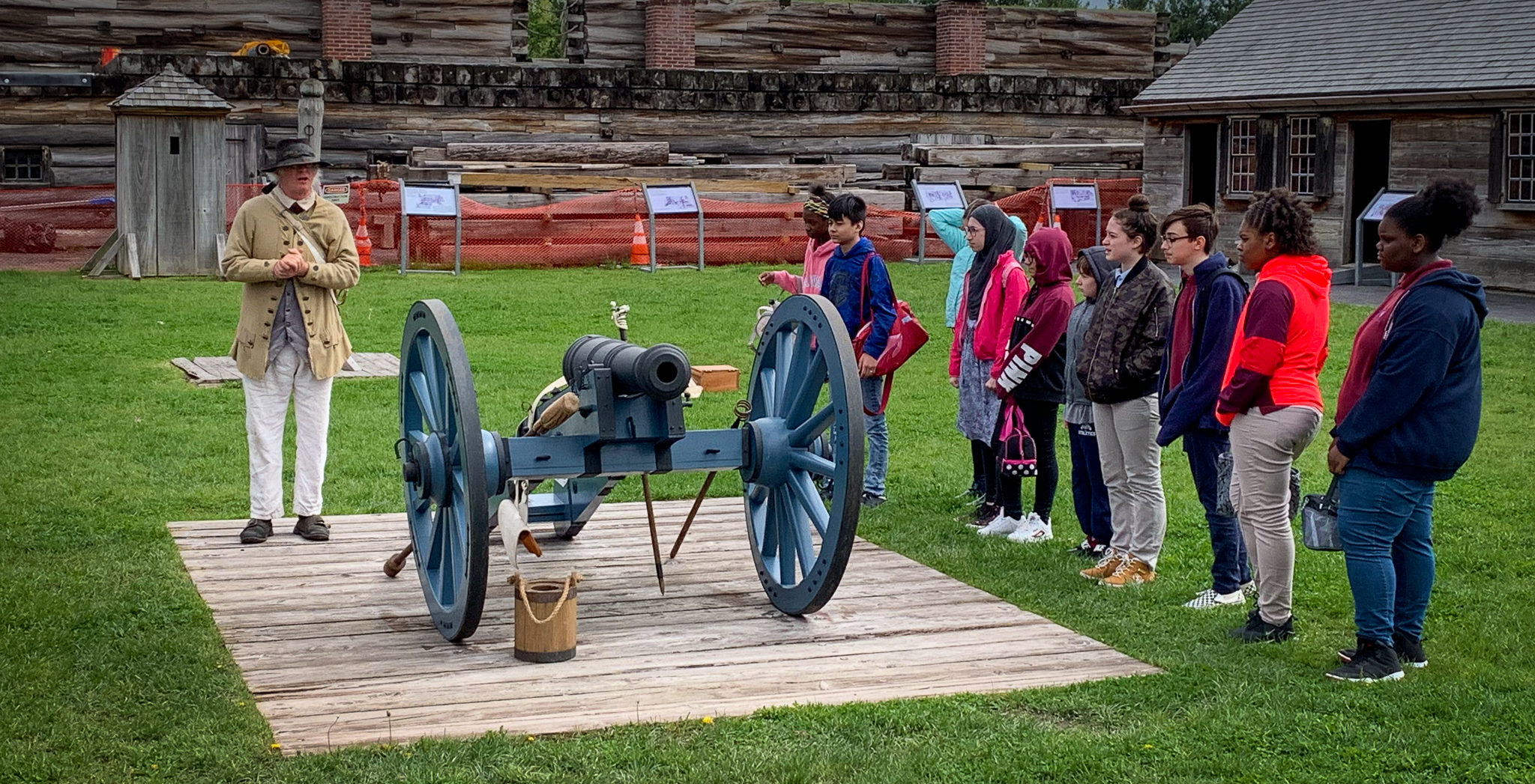 UASCS Atoms take a field trip to Fort Stanwix National Monument and Revolutionary War's Oriskany Battlefield historic site