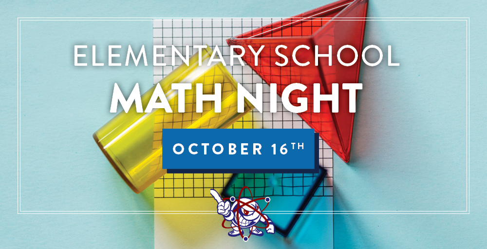 Join Utica Academy of Science Elementary School for its Math Night on October 16th from 5:00 PM to 6:00 PM