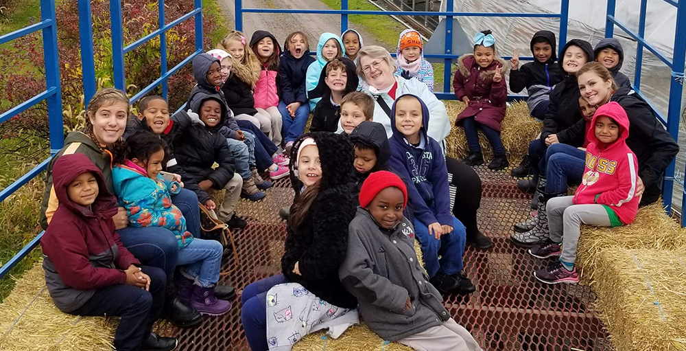 First grade Atoms enjoyed a field trip to North Star Orchards