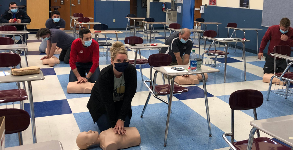UASCS Administration Team Become CPR Certified
