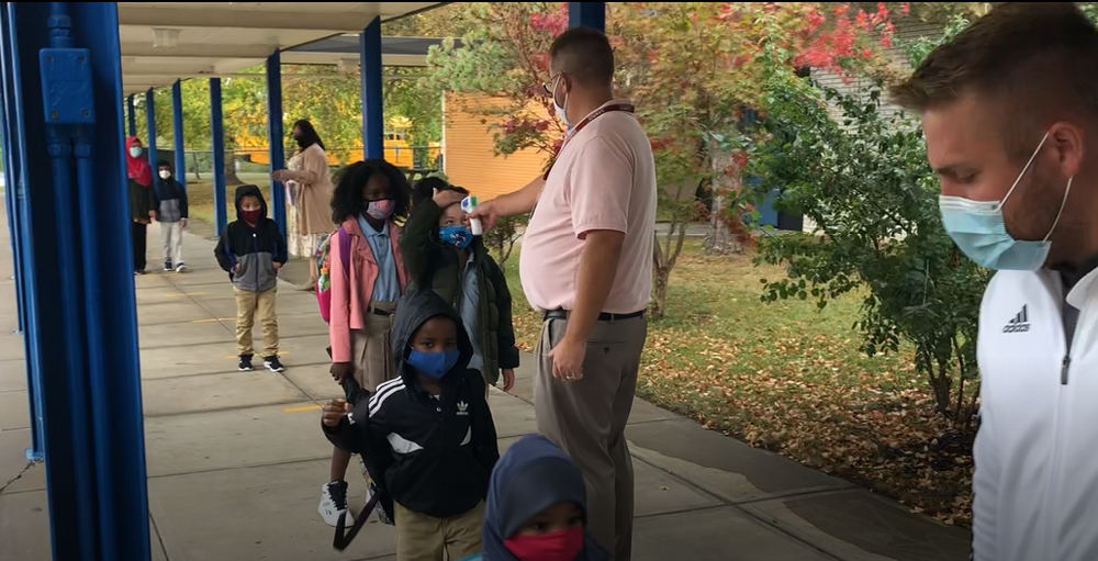 Elementary School Morning Arrival Routine