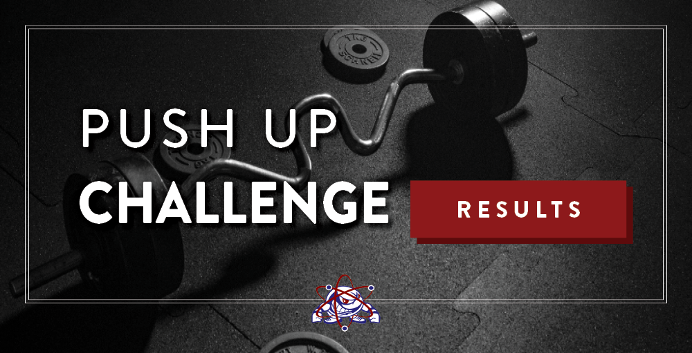 Utica Academy of Science high school hosted a virtual Push Up Challenge for its students to participate in throughout the month of December.